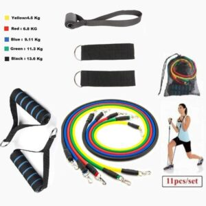 Gocart Set of Exercise Resistance Bands