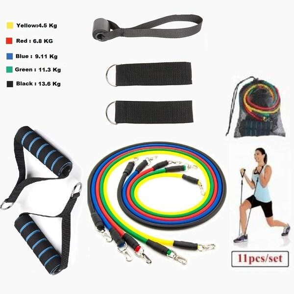 Gocart Set of Exercise Resistance Bands