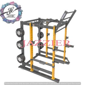 Jazzier Power Squat Rack 4 by 2 Square Pipe PR-02