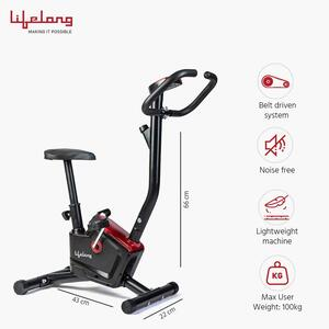 Lifelong LLF54 Fit Pro Stationary Exercise Belt Bike for Weight Loss at Home