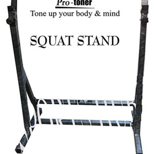 PROTONER SQUAT STAND WITH ADJUSTABLE HEIGHT