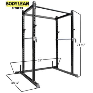 Power Rack Squat Cage Bench Cross fit Pull up in 2 X 2 Square Pipe