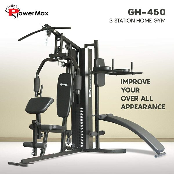 Powermax Fitness GH-450 Multi Function Home Gym