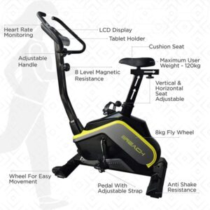 Reach B-400 Magnetic Exercise Fitness Cycle