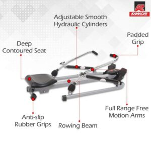 KAMACHI HEAVY DUTY ROWING MACHINE