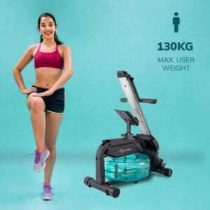 PowerMax Fitness RWC-1000 Water Rowing Machine