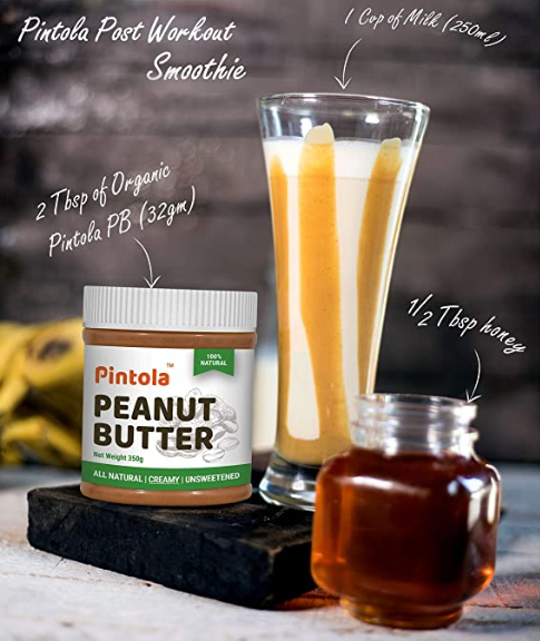 Pintola Peanut BUtter Smoothie for weight gain