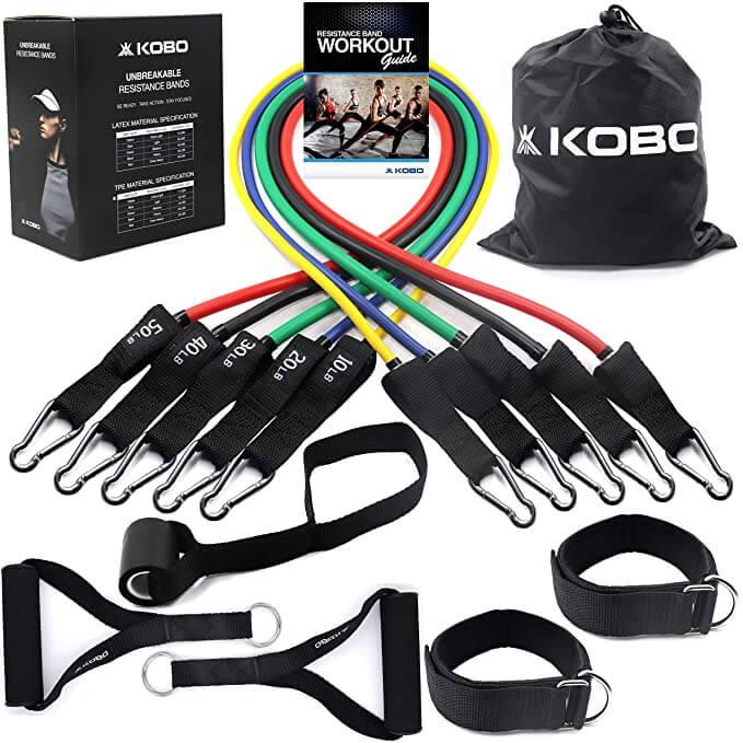 kobo 5 in 1 resistance tube set