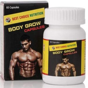 Body fast grow herbal weight gain capsules