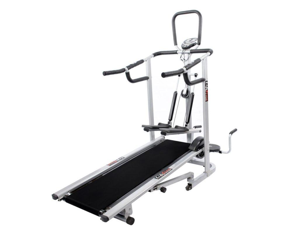 Lifeline 4 in 1 deluxe best manual treadmill in India