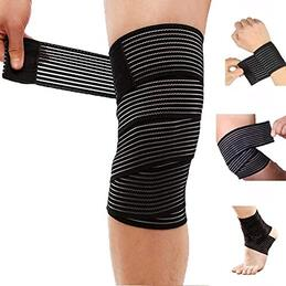DreamPalace India 78 Inches Weight Lifting Knee Wraps