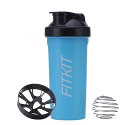 Fitkit Premium Bottle Shaker With Wire Blending Ball