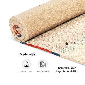 HealthHike Handloom Eco Friendly Cotton Yoga Mat