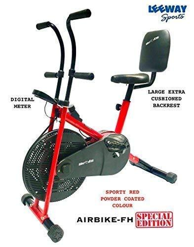 Leeway Air Bike With Back Support