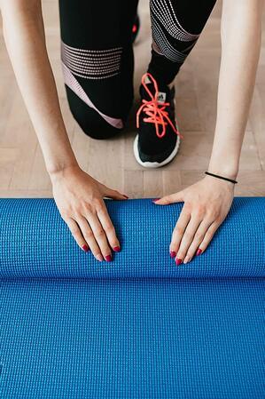 OJS Anti Skid Yoga Mat