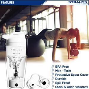 Strauss Automatic Shaker Bottle