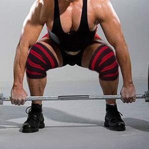 Xtrim Dura fit-Knee wrap -competition Grade