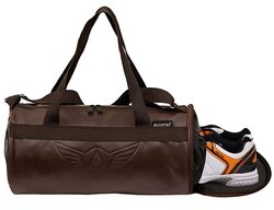 AUXTER Leather gym bag