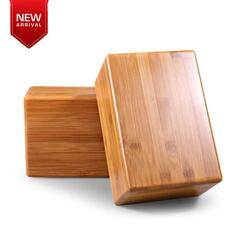 FITSY Wooden Yoga Block in India