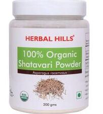 Herbal Hills Organic Shatavari Powder