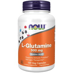 Now Foods glutamine capsules