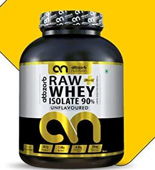 Abbzorb Nutrition Raw+ Whey Isolate