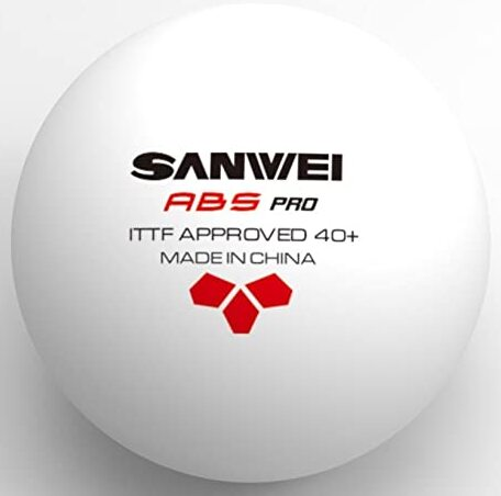 SANWEI ABS PRO table tennis ball