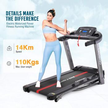 Welcare Maxpro Treadmill Review PTM405