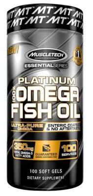 Muscletech Essential Series Platinum 100% Omega Fish Oil
