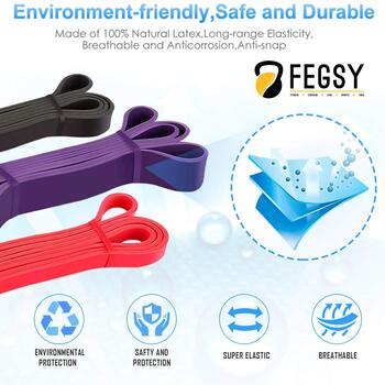The FEGSY Resistance Band Review; A product rich with pros, cons and information 9
